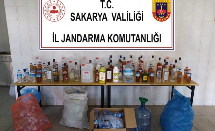 Hendek'te Sahte İçki Operasyonu