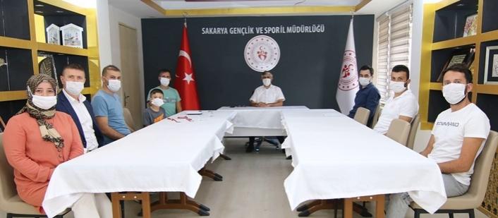 İl Müdürü Özsoy, Mutlu Şampiyonu Ağırladı