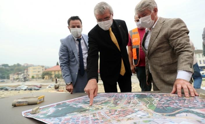 SGK Köprülü Kavşak projesinin temeli atılıyor