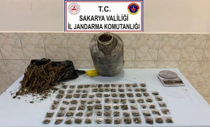 Söğütlü'de Uyuşturucu Operasyonu