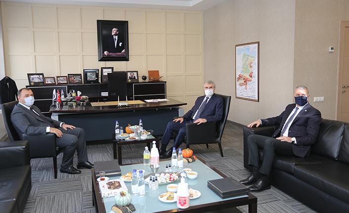 Büyükşehir'den SATSO'ya ihracat teşekkürü