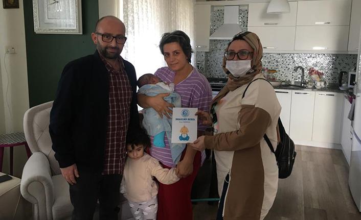 Karasu Belediyesinden Hoş Geldin Bebek Projesi