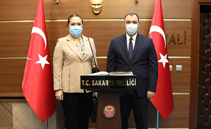 Kosova'nın İstanbul Başkonsolosundan Vali Çetin Oktay Kaldırım'a Ziyaret