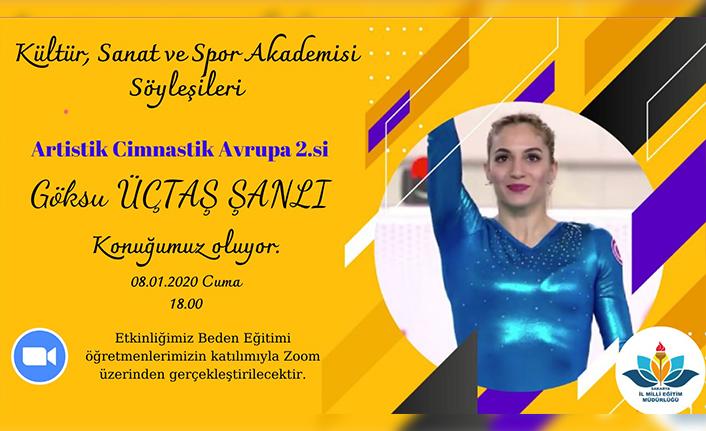 Sakarya MEM'den Kültür, Sanat ve Spor Akademisi Söyleşileri Programı