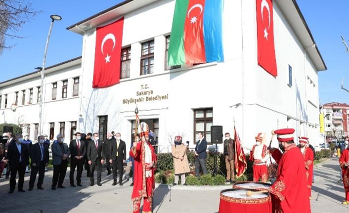 Büyükelçi Hazar İbrahim Mehteranla gururlandı