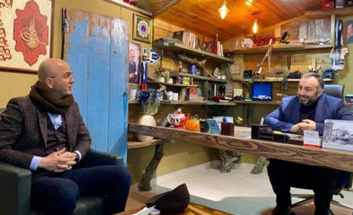 Ender Serbes'ten LC Haber Ajansı'na ziyaret