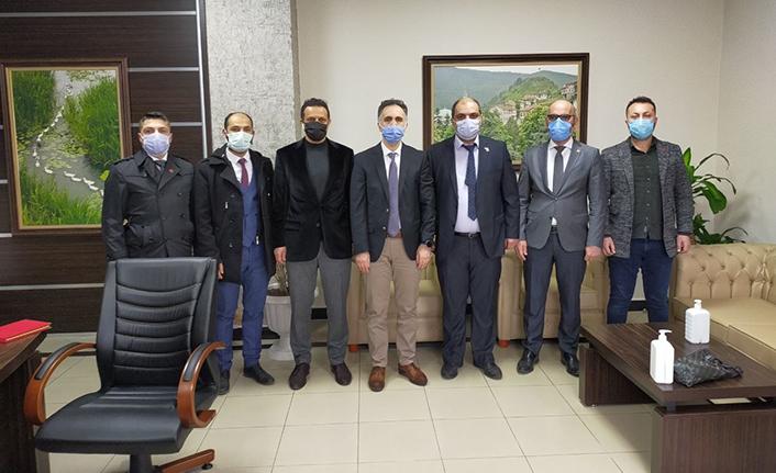 Yeniden Refah Partisi Adapazarı'ndan SEAH'a Ziyaret