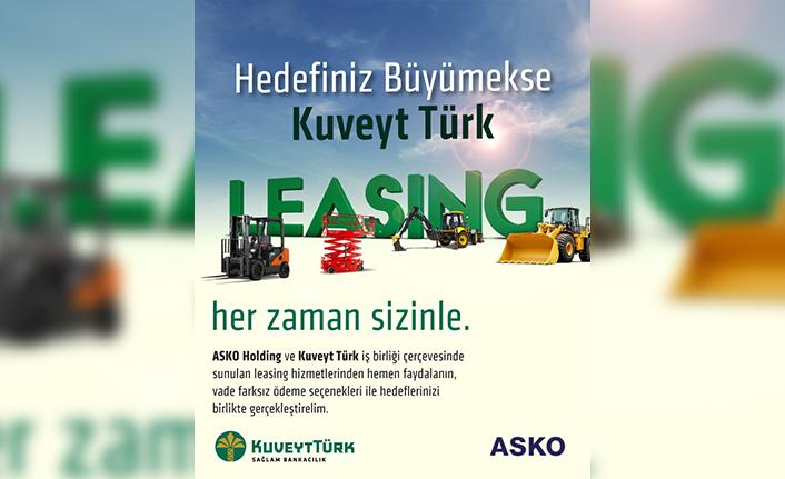 Kuveyt Türk ve Asko Grubu arasında katkı paylı leasing anlaşması