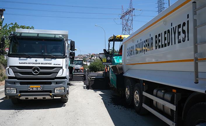 32 Evler Mahallesi'nde son etap için asfalt öncesi hazırlık başladı