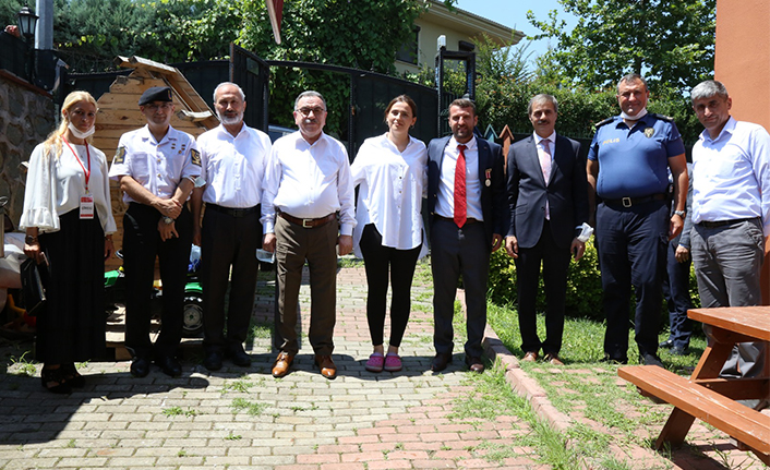 Başkan Alemdar 15 Temmuz Gazilerini Ziyaret Etti