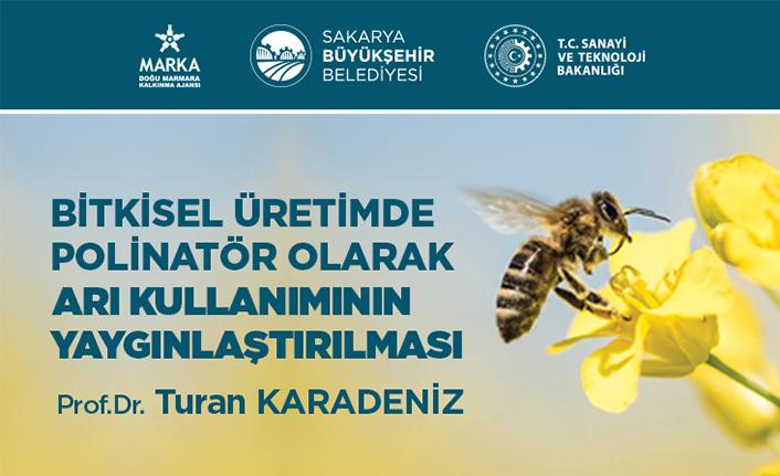 Bitkisel üretimde arı kullanımının yaygınlaşması için eğitimler verilecek