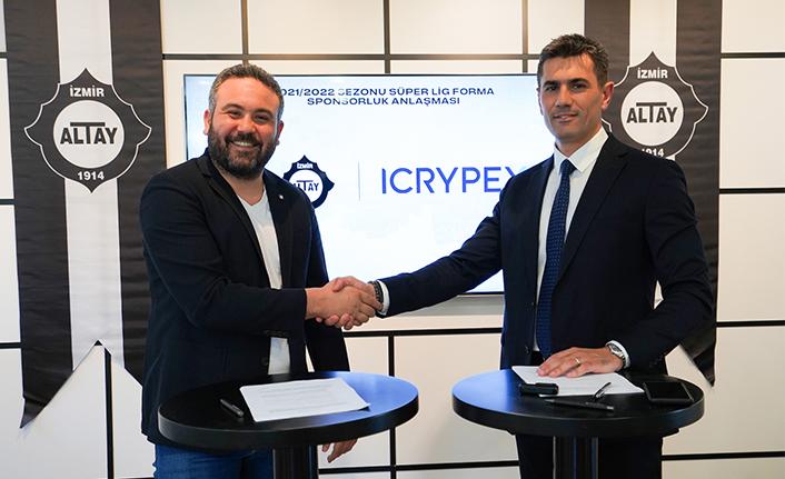 Büyük Altay ile ICRYPEX arasında sponsorluk anlaşması imzalandı