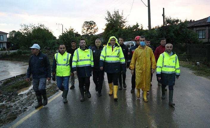 Kocaali'de Büyükşehir ekipleri sahada çalışmalarını aralıksız sürdürüyor