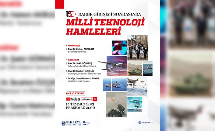 Sakarya Üniversitesinden 15 Temmuz Etkinlikleri