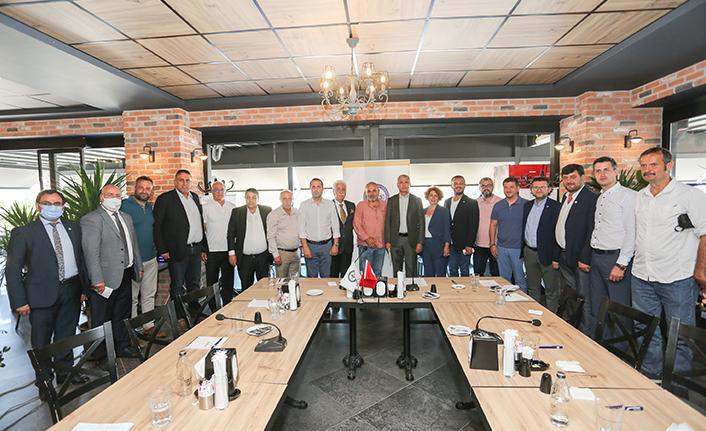 SATSO Yönetimi Komisyon ve Kurul Başkanları ile Bir Araya Geldi