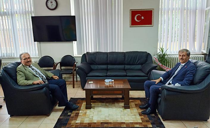 Başkan Alemdar'dan Ali Candan'a Hayırlı Olsun Ziyareti