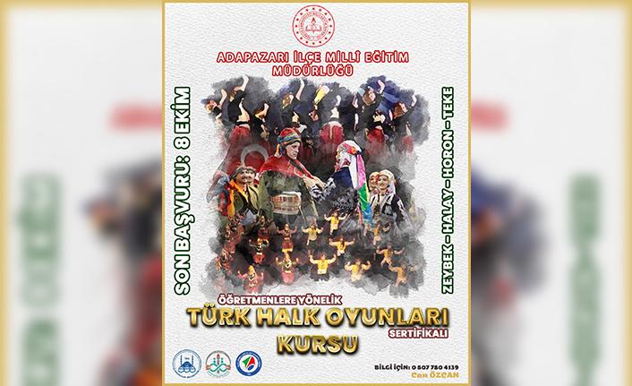 """Adapazarı ilçe mem' den """"türk halk oyunları kursu"""""""