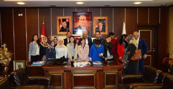 Aday Öğretmenler Belediye Birimlerini Gezdi