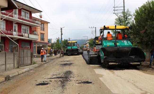 Karapürçek altyapının ardından asfaltla buluşuyor