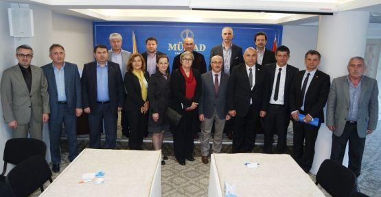 CHP'nin Adayları; MÜSİAD'ta