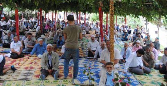 Çukurköy Kur'an-ı Kerim'e doydu