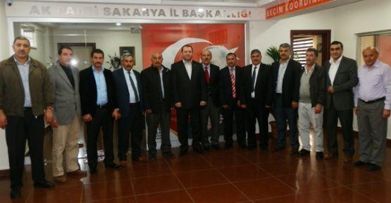 Dadaşlar'dan AK Parti'ye ziyaret