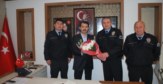Emniyetten Polis Haftası Ziyareti