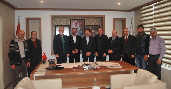 Erbakan Vakfı'ndan Başkan ACAR'a Ziyaret