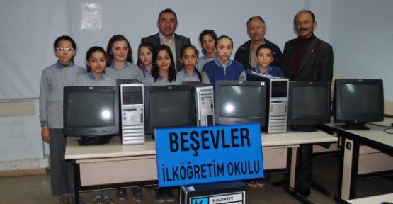 Kadıköy Belediyesi'nde bilgisayar jesti