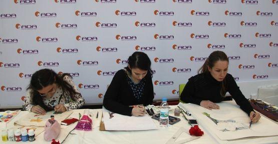 Kadınlar Günü'nü, ADA AVM'de sanatın diliyle Yorumladılar