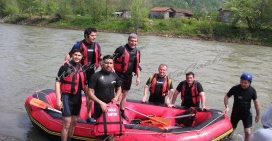 Kocaali'de Rafting Heyecanı