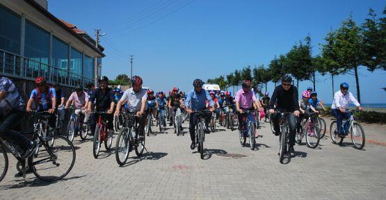 Sağlık İçin Bisikleti Seçin Kocaali`de yapıldı