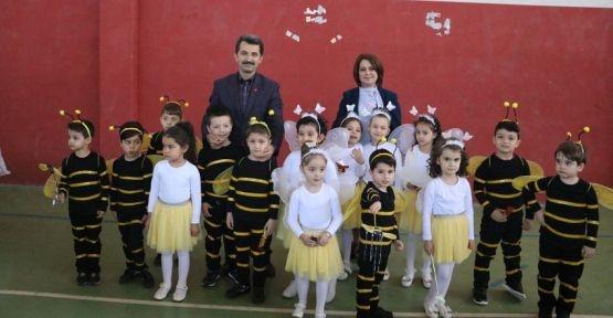 Şerife Bacı Ana Okulu Öğrencileri 23 Nisan`ı kutladı