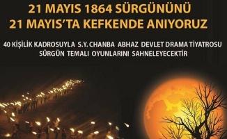 Abhazlar 21 Mayıs Sürgünü'nü anmaya hazır