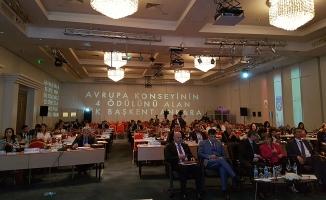 Büyükşehir'in projeleri önemli toplantıda tanıtıldı