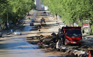 Sakarya Caddesi Yenileniyor