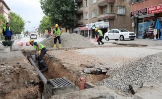 SASKİ'den yeni cadde için sağlam altyapı