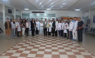 Tıp Merkezi'nde Hemşireler Günü kutlaması