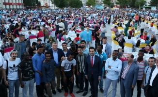Demokrasi Meydanı'nda kardeşlik coşkusu
