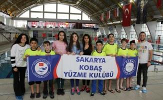 Kobaş Yüzme'nin 9 sporcusu Bölge Yarışmalarına katılıyor