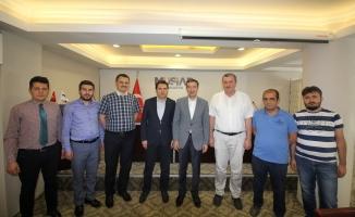 Bakan Yardımcısı Çelik'ten MÜSİAD'a ziyaret