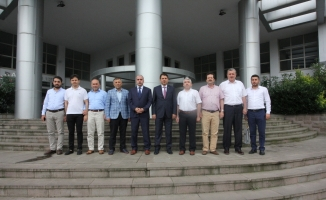 MÜSİAD'tan Vergi Dairesi Başkanlığına Ziyaret