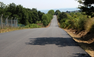 Adapazarı Karadavutlu'ya sıcak asfalt