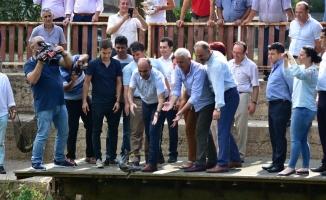 Dünyada Tek Olan Mersin Balığı Festivali Karasu'da Yapıldı