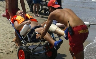 Engelliler Denizle Buluştu