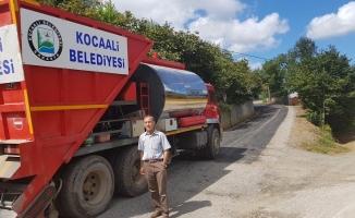 Asfalt Çalışmaları Şerbetpınar'da devam ediyor