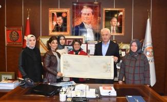 Karadeniz Mesleki ve Teknik Anadolu Lise Yönetiminden İspiroğlu'na Ziyaret