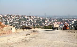 Şehrin 3. Girişi asfalta hazırlanıyor