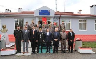 Vali Balkanlıoğlu Dokurcun Jandarma Karakol Komutanlığı'nın Açılışını Yaptı