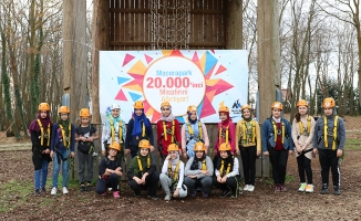 Macera Park 20 bininci misafirini ağırladı